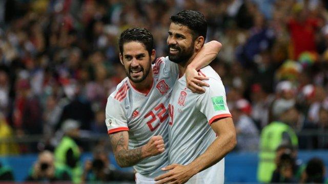 Диего Коста – лучший игрок матча Иран – Испания