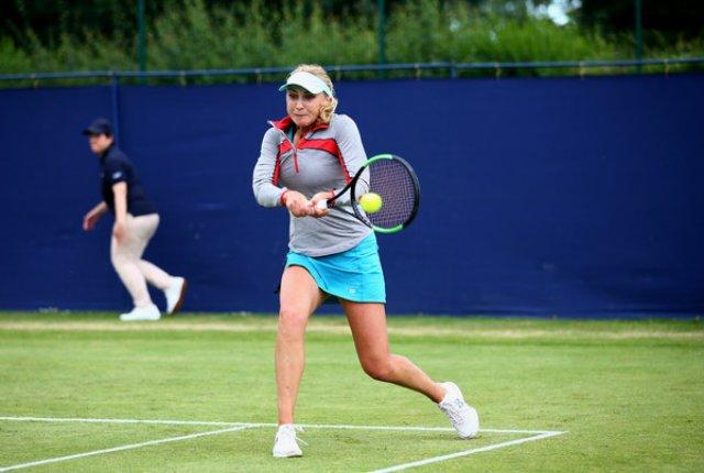 Людмила Киченок не смогла преодолеть стартовый раунд парного турнира в Бирмингеме