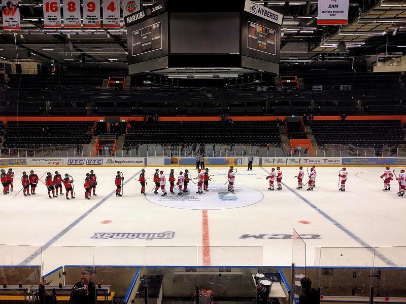 Юниорская сборная России уступила Канаде в товарищеском матче перед ЧМ