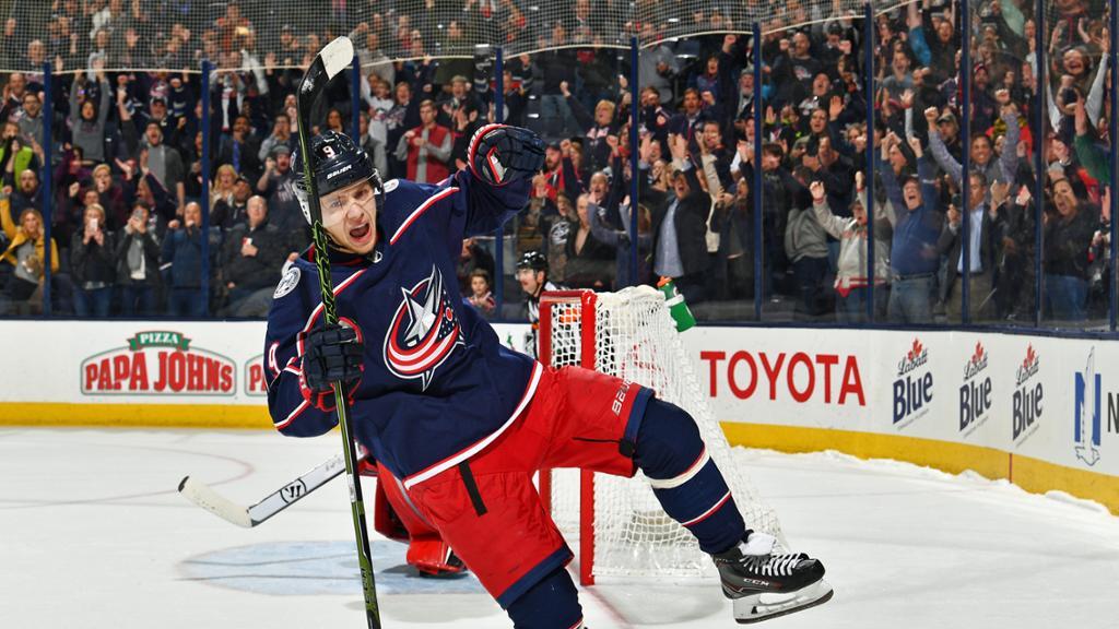 Панарин набрал очки в 3-м подряд матче плей-офф НХЛ