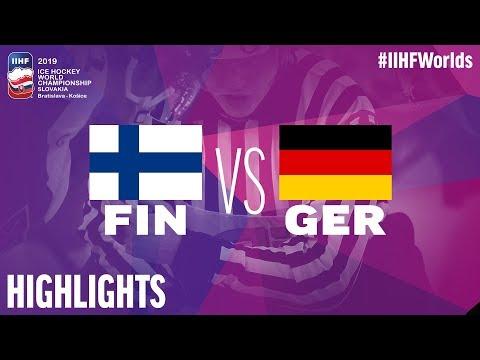 Видеообзор сенсационной победы Германии над Финляндией