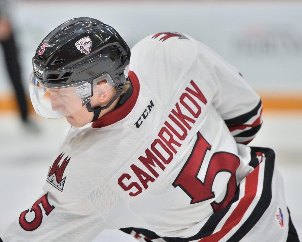 Защитник Саморуков признан первой звездой матча в финале OHL